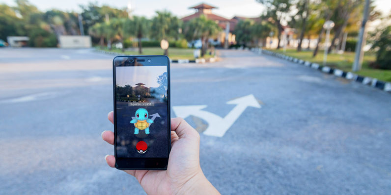 3d android game called pokemon go